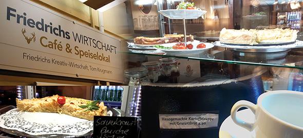Quiche - österreichische und fränkische Küche in Berlin-Friedrichshain