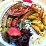 Bratwurst, österreichische und fränkische Küche in Berlin