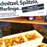 Schnitzel, Spätzle, Pfifferlinge, österreichische und fränkische Küche in Berlin
